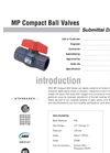 MP Valves SUBMITTAL Data Sheet